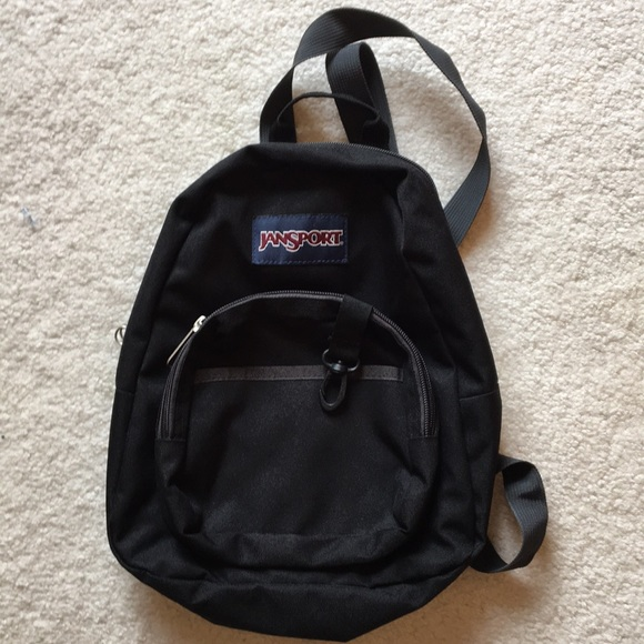 3a1877593d4e Jansport Handbags - Half pint mini Jansport black backpack